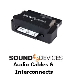Sound Devices Audio Cables