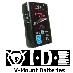 IDX V-mount batteries