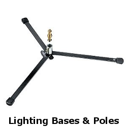 lighting bases and poles