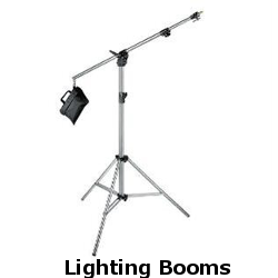 lighting booms