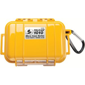 PELICAN # 1010 MICRO CASE - YELLOW WITH BLACK