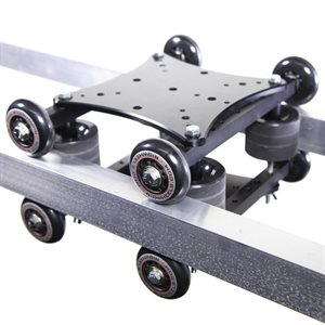 RailDolly 2x Captive Rail Camera Dolly / Slider - Carriage only