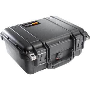 PELICAN # 1400 CASE NO FOAM - BLACK