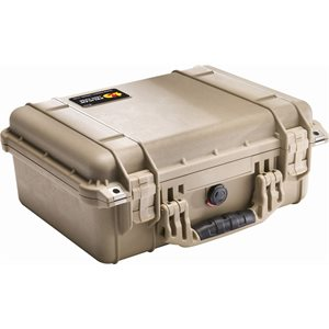 PELICAN # 1450 CASE NO FOAM - DESERT TAN