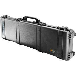 PELICAN # 1750 WEAPONS CASE - BLACK
