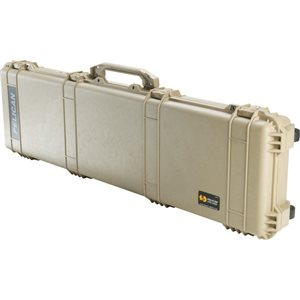 PELICAN # 1750 WEAPONS CASE - DESERT TAN