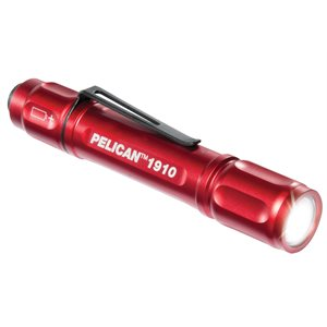 PELICAN 1910 LED GEN II FLASHLIGHT - RED