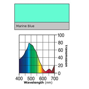 LEE FILTERS ROLL MARINE BLUE