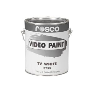 ROSCO VIDEO TV WHITE PAINT