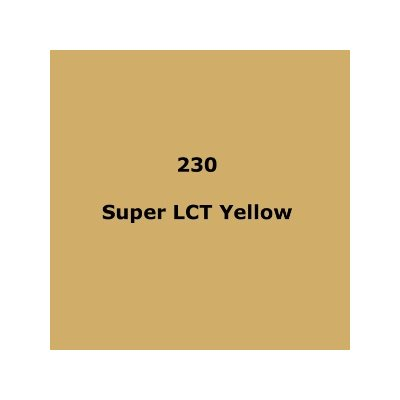 LEE FILTERS 230 SUPER LCT YELLOW ROLL