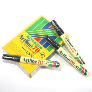 ARTLINE 70 BULLET POINT MARKER BLACK
