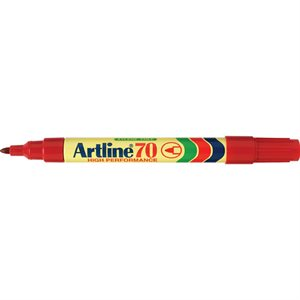 ARTLINE 70 PERMANENT RED MARKER