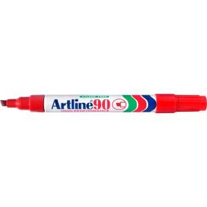 ARTLINE 90 PERMANENT RED MARKER