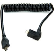 ATOMOS COILED RIGHT-ANGLE MICRO TO MICRO HDMI CABLE