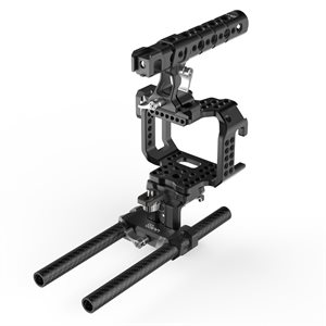 8Sinn BMCC Micro Cage + Top Handle Pro + 15mm Universal Rod & Metabones Support