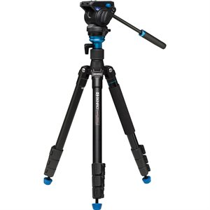 Aero4 Travel Angel Video Tripod Kit - A2883F with Leveling Column & S4 Head