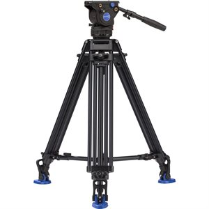 AD73T Dual Stage Tripod with BV4 Head - 75mm Bowl