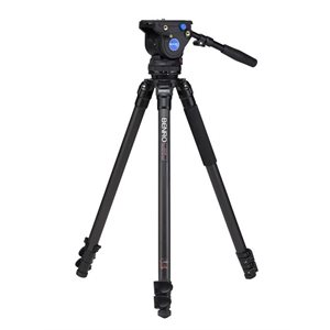Benro Series 3 Carbon Fibre Single Tube Video Tripod