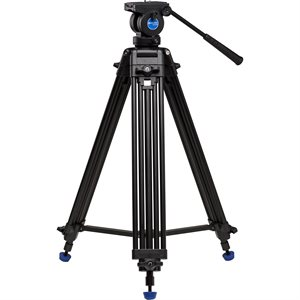 KH25N Video Tripod & K5 Head - 60mm Bowl, Dual Stage, Quick Lock Leg Release