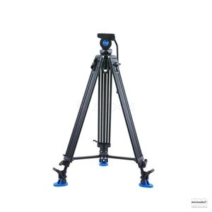 KH26NL Video Tripod & K5 Head - 60mm Bowl, Dual Stage, Quick Lock Leg Release [+70° / -70° Tilt Range]