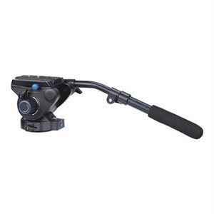 S6 - 6Kg Video Head (Stepped - 0, 2.5Kg, 4.5Kg, 6Kg) [+90° / -50° Tilt Range]