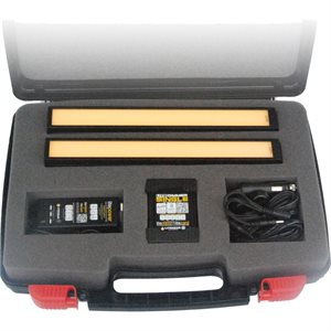 "CINEO Lighting Matchstix 12"" Double Power Kit"
