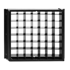CINEO LIGHTING LS LOUVER 90º, BLACK ANODIZED ALUMINUM