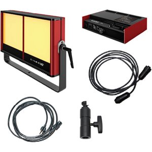 CINEO LIGHTING HS FULL-DIMMING 3200 KIT -HEAD, 3200K PANELS, 10' CABLE, PSU, AC CORD,