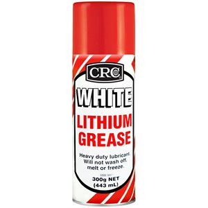 CRC INDUSTRIES WHITE LITHIUM GREASE SPRAY