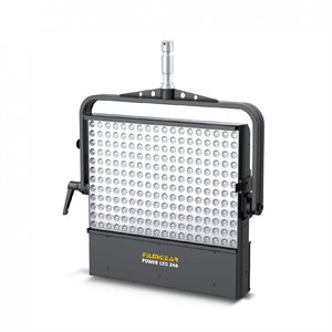 FILMGEAR LIGHTING 240 POWER LED, (DAYLIGHT),HEADSTIRRUP WITH +28MM SPIGOT, FILTER FRAME, SAFETY WIRE AND POWER CABLE