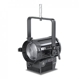 250W FRESNEL LED, DAYLIGHT, 4-LEAF BARNDOOR, +175MM FRESNEL LENS, POWER CABLE, STIRRUP WITH +28MM