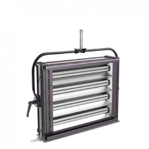 FILMGEAR LIGHTING U-FLO 4 WITH 4 X 55W LAMPHEAD, STIRRUP WITH 28MM SPIGOT, DIMMING 100-0% DMX CONTROL