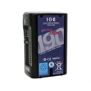 IDX (185WH) LI-ION V-MOUNT BATTERY