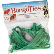 BongoTies ALL-GREEN 10-pack