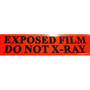 TAPE DO NOT X-RAY