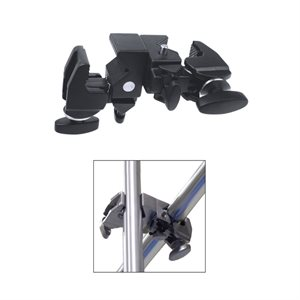 Double Superb Clamp - Black