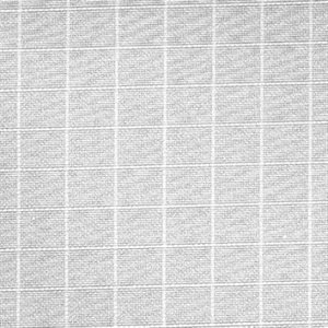 8x8' QUATER GRID CLOTH SILENT WHITE. (2.4m x 2.4m) by LA Rag House