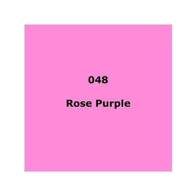 Lee Filters 048 Rose Purple Sheet