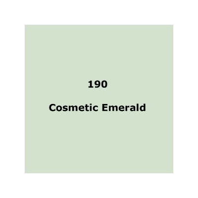 Lee Filters 190 Cosmetic Emerald Sheet