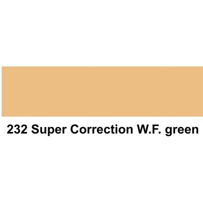 Lee Filters 232 Super Correction White Flame Green sheet