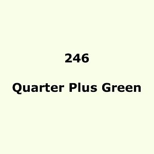 Lee Filters 246 Quarter Plus Green roll