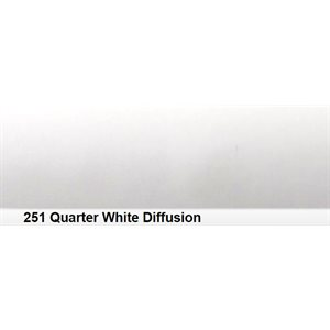 Lee Filters 251 Quarter White Diffn Roll