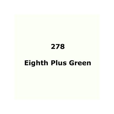 Lee Filters 278 Eighth Plus Green Sheet
