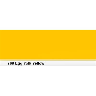 Lee Filters 768 Egg Yolk Yellow Roll