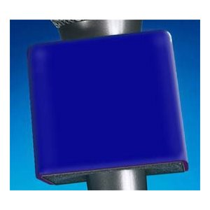 NAB MIC FLAG PLASTIC DARK BLUE SQUARE
