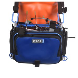 Detachable front pannel for OR-30 (Blue)