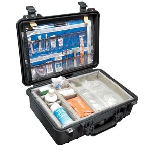 PELICAN # 1500 EMS CASE - BLACK
