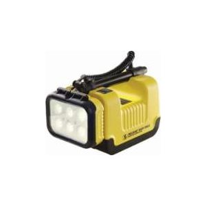 Pelican 9455 Remote Area Lighting System Class I, Division 1  /  IECEx ia  /  Zone 0 - Yellow
