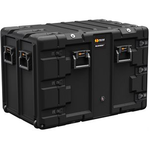 PELICAN BLACKBOX RACK CASE 11U METRIC - BLACK
