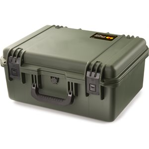 PELICAN IM2450 STORM CASE WITH PADDED DIVIDERS - OLIVE